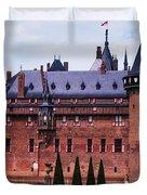 De Haar Castle 4. Utrecht. Netherlands Duvet Cover by Jenny Rainbow