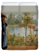 Indian Summer Duvet Cover by Carl Larsson