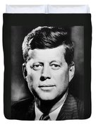 Portrait Of John F. Kennedy  Duvet Cover by American Photographer