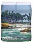 Sri Lanka Duvet Cover by Steve Harrington