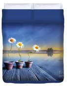 Summer Morning Magic Duvet Cover by Veikko Suikkanen
