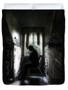The Asylum Project - Waiting For The Miracle Duvet Cover by Erik Brede