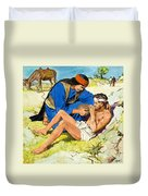 The Good Samaritan  Duvet Cover by Clive Uptton