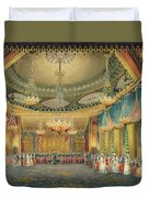 The Music Room Duvet Cover by English School