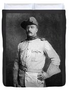 Theodore Roosevelt Duvet Cover by American School