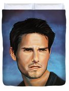 Tom Cruise Duvet Cover by Paul Meijering