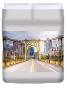 0305  Pittsburgh 10 Duvet Cover by Steve Sturgill