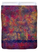 0799 Abstract Thought Duvet Cover by Chowdary V Arikatla