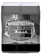 1951 Nash Emblem Duvet Cover by Jill Reger