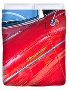 1955 Porsche 356 Speedster Duvet Cover by Jill Reger