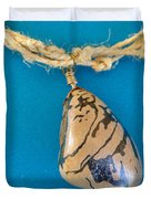 Aphrodite Mechanitis Necklace Duvet Cover by Augusta Stylianou