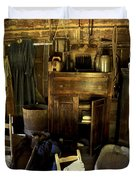 Appalachian Mountain Log Cabin Duvet Cover by Paul W Faust -  Impressions of Light