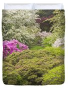 Asticou Azelea Garden - Northeast Harbor - Mount Desert Island - Maine Duvet Cover by Keith Webber Jr