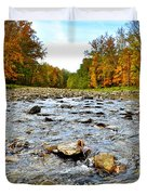Babbling Brook Duvet Cover by Frozen in Time Fine Art Photography