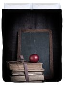 Back To School Duvet Cover by Edward Fielding