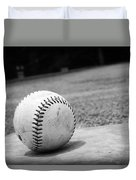 Baseball Duvet Cover by Kelly Hazel