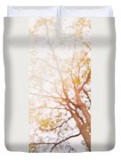 Beneath A Tree  14 5284  Diptych  Set 1 Of 2 Duvet Cover by Ulrich Schade
