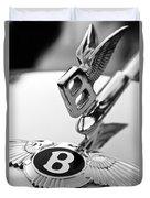 Bentley Hood Ornament Duvet Cover by Jill Reger