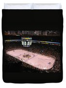 Boston Bruins Duvet Cover by Juergen Roth