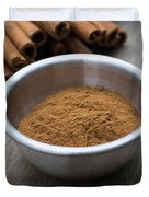 Cinnamon Spice Duvet Cover by Edward Fielding