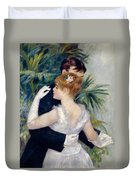 Dance In The City Duvet Cover by Pierre-Auguste Renoir