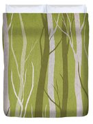 Dark Forest Duvet Cover by Aged Pixel