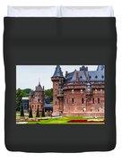 De Haar Castle. Utrecht. Netherlands Duvet Cover by Jenny Rainbow