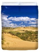 Desert landscape in Manitoba Duvet Cover by Elena Elisseeva