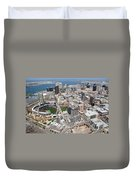 Downtown San Diego Duvet Cover by Bill Cobb