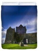 Dunguaire Castle Ireland Duvet Cover by Giovanni Chianese