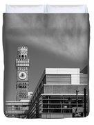 Emerson Bromo-seltzer Tower Duvet Cover by Susan Candelario