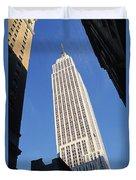 Empire State Building Duvet Cover by Jon Neidert