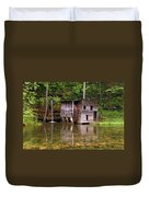 Falling Spring Mill  Duvet Cover by Marty Koch