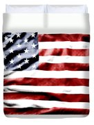 Flag Duvet Cover by Les Cunliffe