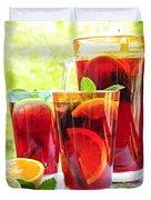 Fruit punch  Duvet Cover by Elena Elisseeva