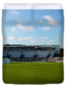 Hampshire County Cricket Ground Duvet Cover by Terri  Waters
