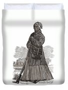 Harriet Tubman, American Abolitionist Duvet Cover by Photo Researchers