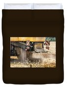 Harvest Time  Duvet Cover by Georgia Fowler