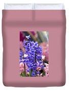 Hyacinth Garden Duvet Cover by Frank Tschakert
