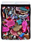 If You Love It Lock It  Duvet Cover by Michael Garyet