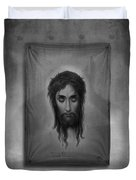 Jesus Christus Duvet Cover by Edward Fielding