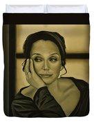 Kristin Scott Thomas Duvet Cover by Paul Meijering