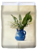 Lilly Of The Valley Duvet Cover by Jaroslaw Blaminsky