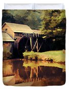 Mabrys Mill Duvet Cover by Darren Fisher