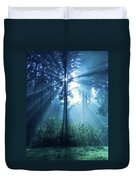 Magical Light Duvet Cover by Daniel Csoka
