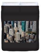 Manhattan Bryant Park Duvet Cover by Jannis Werner
