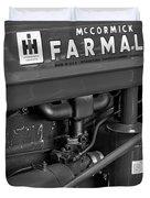 Mc Cormick Farmall Super C Duvet Cover by Susan Candelario