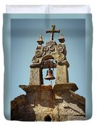 Medieval Campanile  Duvet Cover by Carlos Caetano