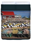 North Rustico Duvet Cover by Elena Elisseeva