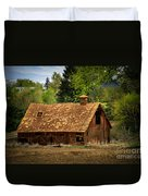 Old Barn Duvet Cover by Robert Bales